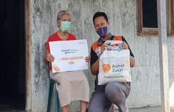 Rumah Zakat Distribusikan 100.287 Paket ke Masyarakat