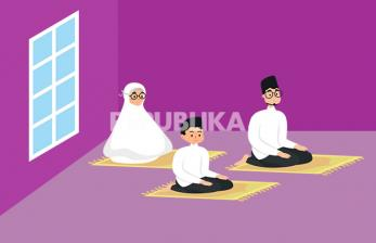 Tata Cara Sholat Idul Fitri di Rumah
