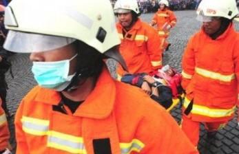 14 Unit Padamkan Kebakaran di Pasaraya Manggarai
