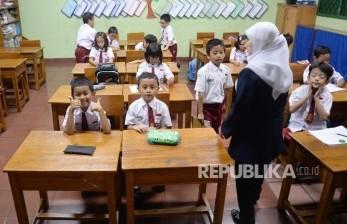Sarpras Sekolah Tatap Muka di Tangsel Siap 100 Persen