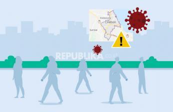 Selama PPKM, Zona Penyebaran Covid-19 Turun di Cirebon