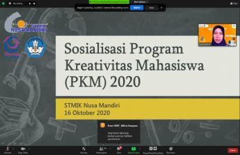 STMIK Nusa Mandiri Gelar Sosialisasi PKM 2020