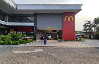 Satpol PP Kota Bandung Sudah Buka Segel McD