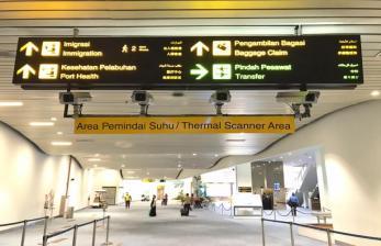 Penumpang Pesawat di Bandara AP II Turun 4,84 Persen