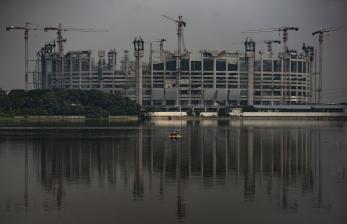 In Picture: Progres Pembangunan Jakarta International Stadium