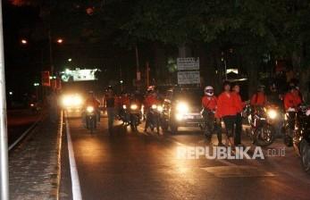 34 Motor Diciduk Saat Patroli Cegah<em> Sahur On the Road</em>