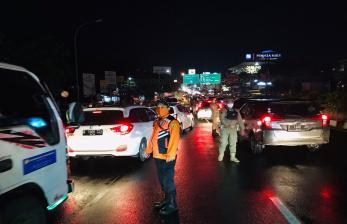 Polres Bogor Mulai Alihkan Kendaraan ke Dua Jalur Alternatif
