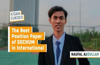 Kisah Sukses Naufal Abdullah, Juara International MUN