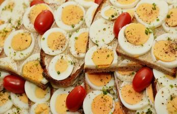 Ayam dan Telur Pilihan Protein untuk Kerja dari Rumah