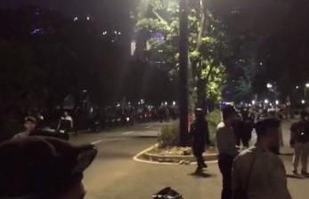 Video Suasana Pascaledakan Sekitar Lokasi Debat Capres