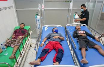 In Picture: Keracunan Makanan di Lapas Gorontalo