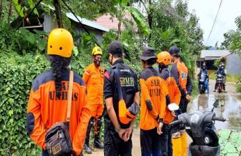 SAR Unhas Terjun dalam Evakuasi Korban Gempa Sulbar