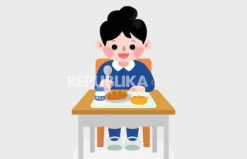 Tips Makan atau Minum Bekal di Sekolah Saat Pandemi