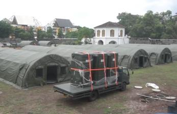 TNI AD Bangun RS Darurat Covid di Benteng Vastenburg Solo