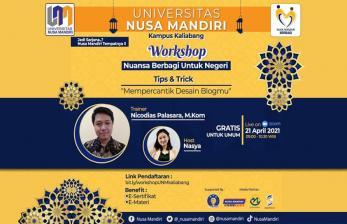 Universitas Nusa Mandiri Kampus Kaliabang Gelar Pelatihan