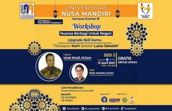 <em>Upgrade Skill</em>, UNM Gelar Workshop Siap Karier Usai Lulus
