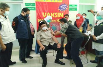 Pelaksanaan Vaksinasi Lansia di Tasikmalaya Masih Minim
