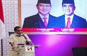 Elektabilitas Turun, Gerindra: <em>Nggak</em> Apa-Apa, Itu Biasa