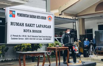 Kang Emil Apresiasi Peresmian RS Lapangan Covid-19 di Bogor
