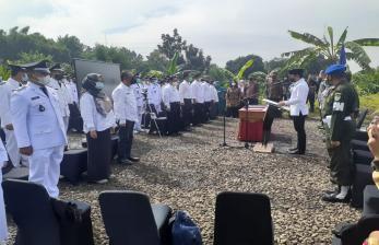 Bima Arya Lantik Pejabat di Lingkungan Pemkot di Situ Kirey