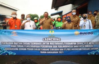 2.175 KPM di Kota Cirebon Terima Bansos Covid-19
