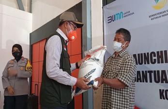 Pemkot Sukabumi Salurkan Bantuan Beras PPKM ke 20 Ribu KPM