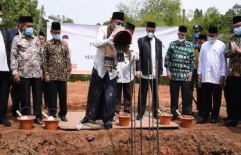 BMH Memulai  Pembangunan Masjid Hidayatullah Cilegon
