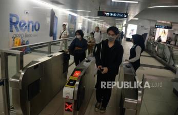 Penumpang MRT Harus Pakai Masker