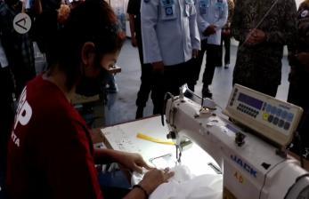 Gibran Apresiasi Produksi Garmen Warga Rutan Surakarta