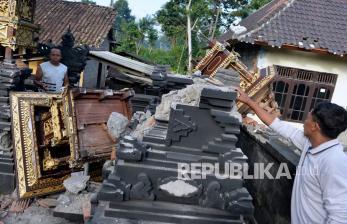 In Picture: Sejumlah Rumah Ibadah Rusak Akibat Gempa Bali