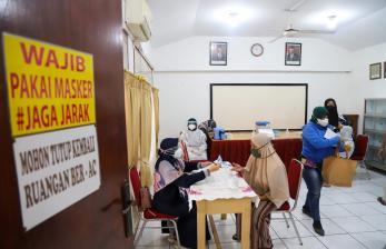 Perdana di Jakarta, Masjid jadi Tempat Vaksinasi