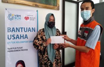 YBM PLN dan Rumah Zakat Berikan Bantuan Wirausaha