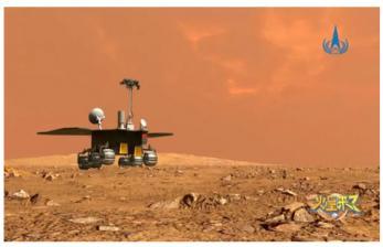 Pekan Ini, China akan Luncurkan Robot Penjelajah di Mars