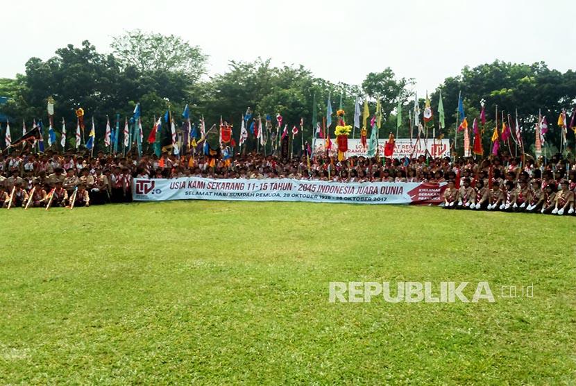 Bumi Perkemahan Cibubur, Jakarta Timur. (ilustrasi)