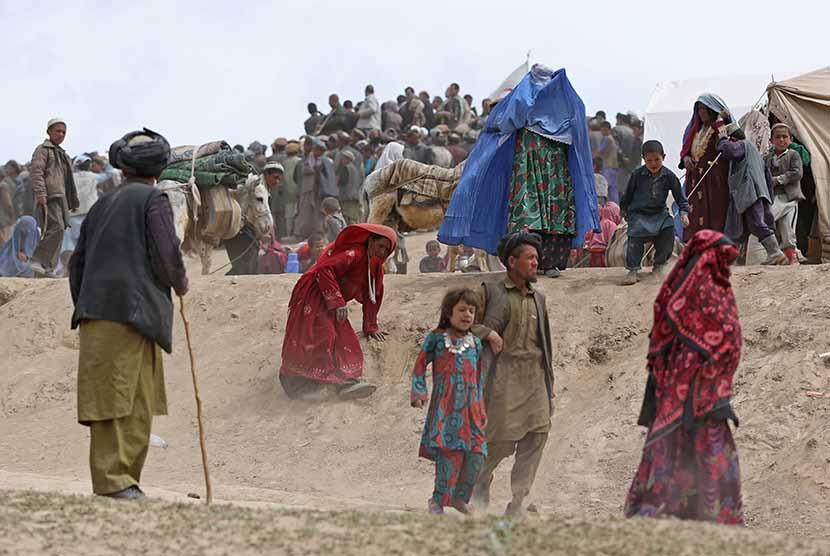 Penduduk Afghanistan.    (ilustrasi)