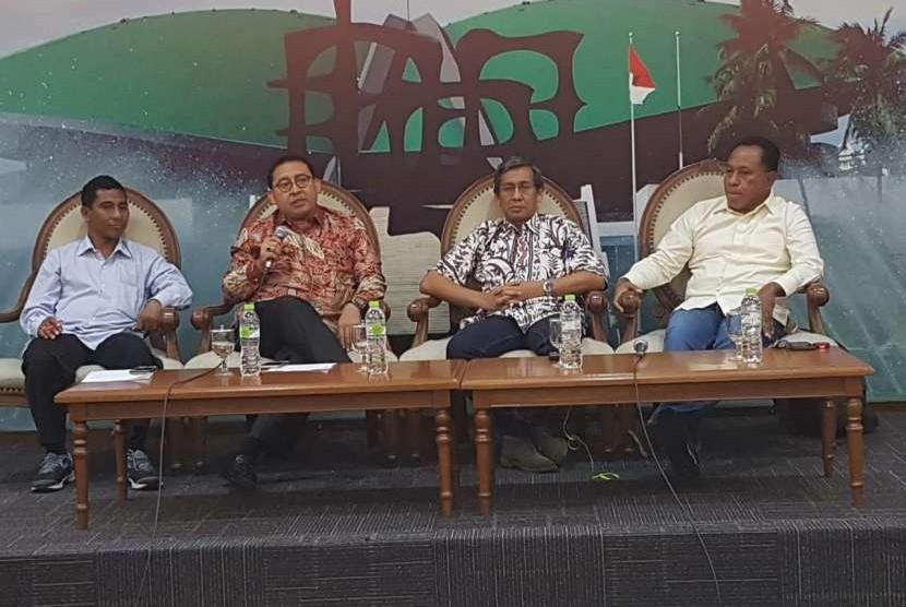 'Diskusi Empat Pilar MPR', (5/10) dengan tema 'Ancaman Hoaks dan Keutuhan NKRI'.
