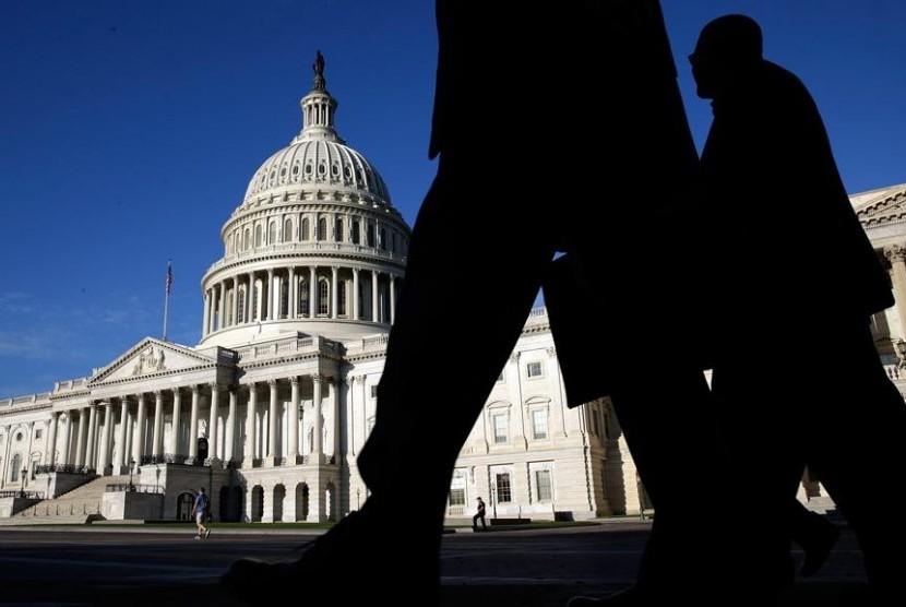 'Governmet Shutdown' di Amerika Serikat (ilustrasi)