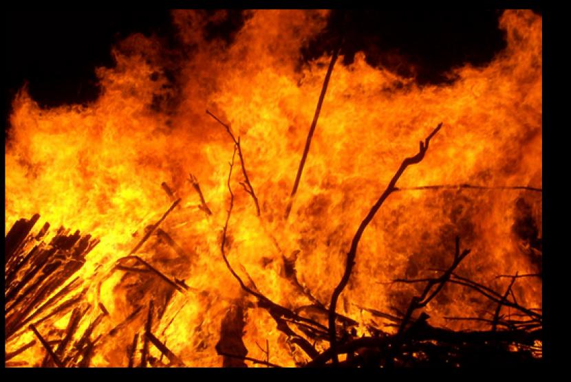 (ilustrasi) Api