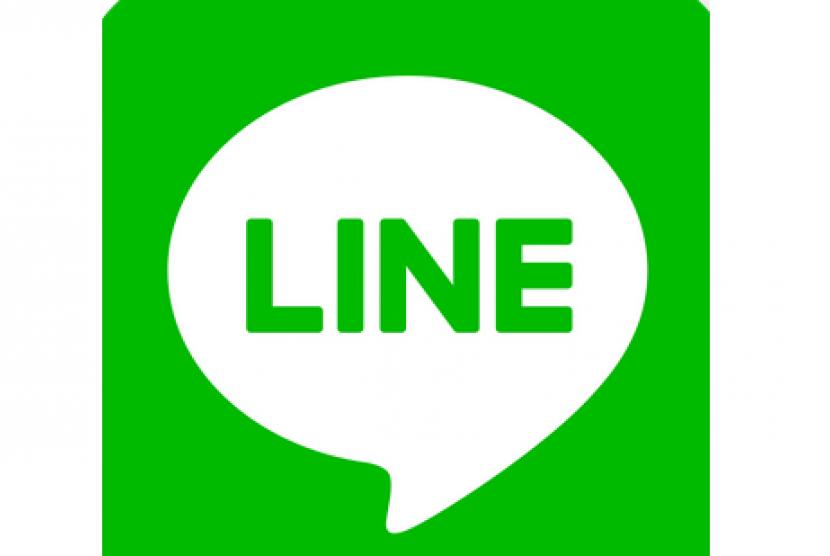 Aplikasi Line (ilustrasi)