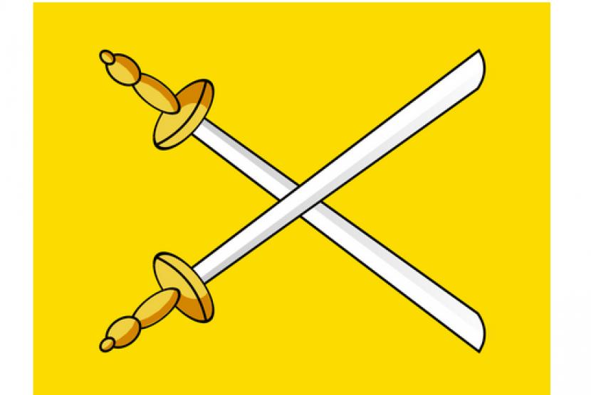 (ilustrasi) bendera kesultanan banten