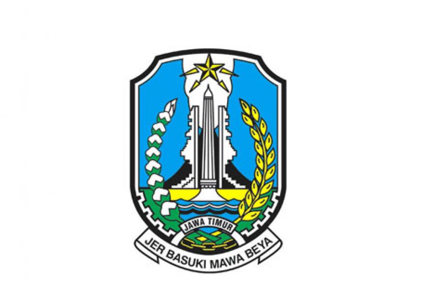 (ilustrasi) logo provinsi jawa timur