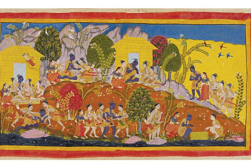 (ilustrasi) Tradisi Dongeng dalam Peradaban India