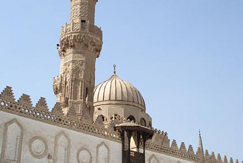 (ilustrasi) universitas al-azhar kairo mesir