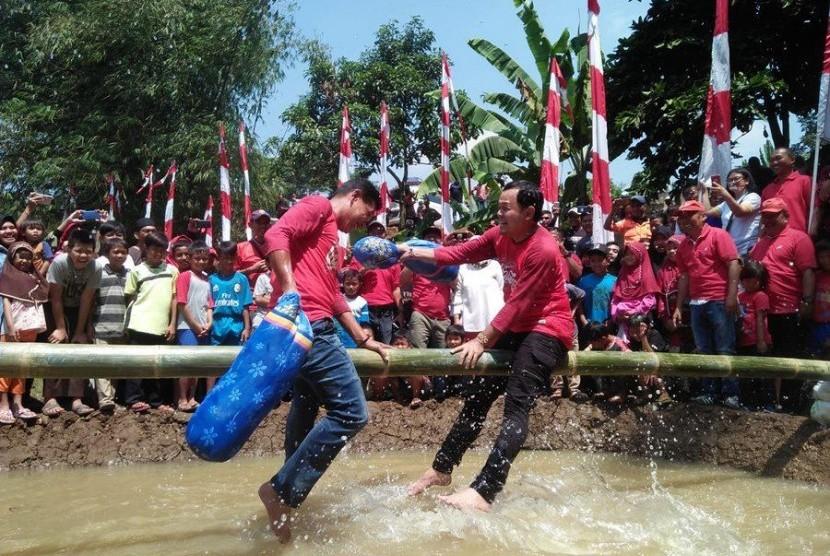 Serunya Pesta Rakyat HUT ke-74 RI di Bogor