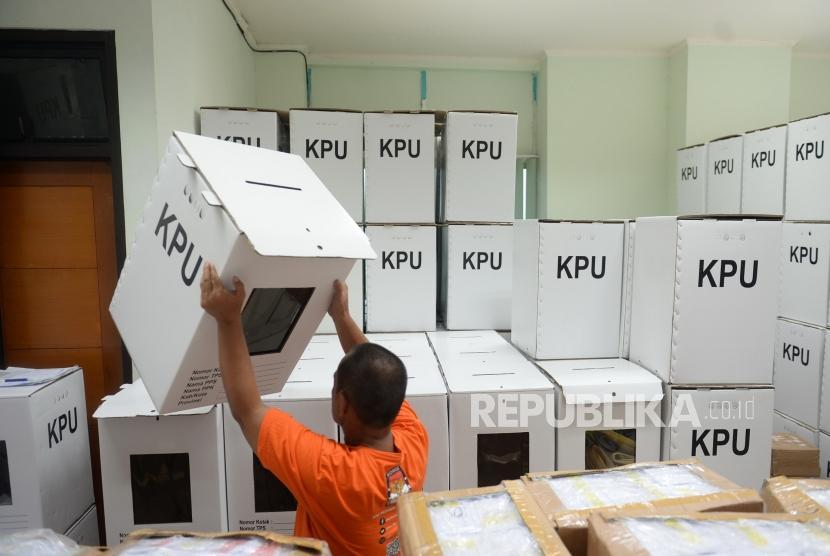 Persiapan Logitik Pemilu 2019 (ilustrasi)