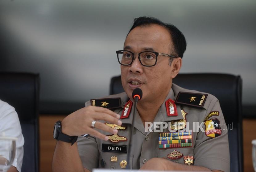 Karo Penmas Div Humas Polri Brigadir Jenderal Polisi Dedi Prasetyo.