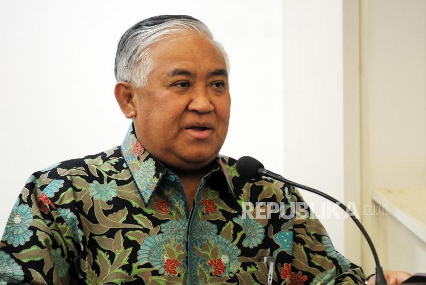 Former Muhammadiyah Chairman Din Syamsuddin