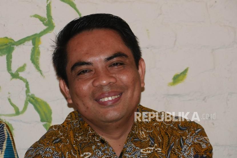 Direktur Sales & Distribution BSI, Anton Sukarna. Anton mengatakan, 50 wakif ASN memesan SWR senilai Rp 1 miliar melalui BSI.