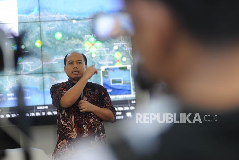 Kepala Data dan Informasi Badan Nasional Penanggulangan Bencana (BNPB) Indonesia Sutopo Purwo Nugroho.