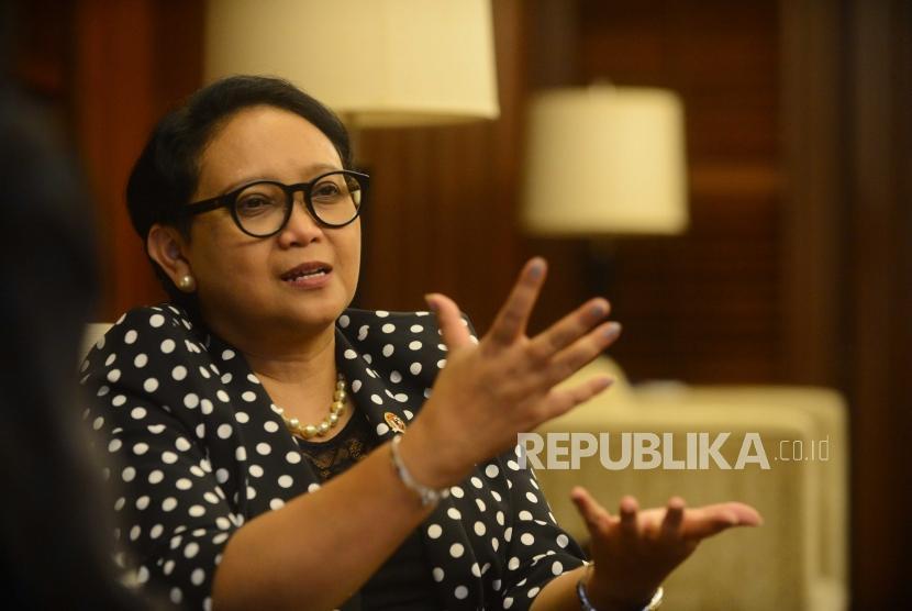 Menteri Luar Negeri Republika Indonesia, Retno Marsudi.
